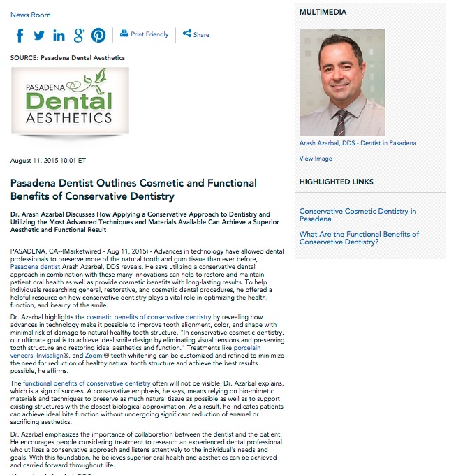 cosmetic dentistry,conservative dentistry,invisalign,teeth whitening,pasadena dentist,dental veneers
